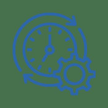 Icon Clock Gear