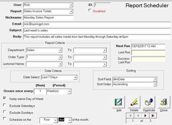 QM Wizard Report Generator