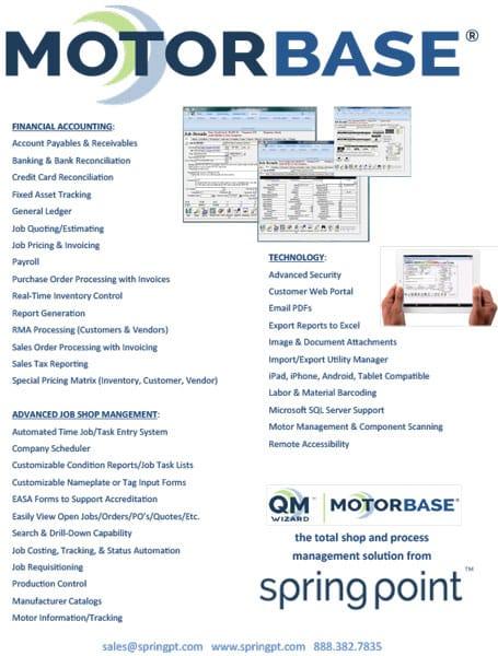 Motorbase Features Brochure