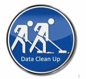 Sweeping Icon Data Clean Up